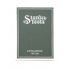 Stanley Catalogue No. 34
