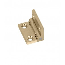 JB-101 brass square knuckled stopphinge