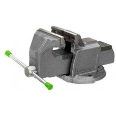 Vise with anvil