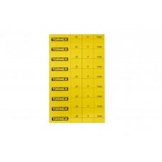 PL-01 Tormek Profile Labels