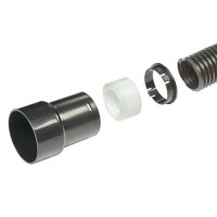 Hose 39mm outside diameter x 3M and adapter