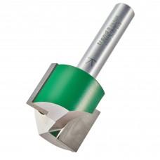 Two flute cutter 25.0mm diameter - shank 8 mm