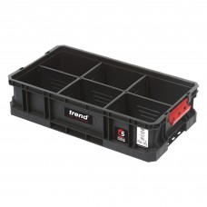 Modular Storage Compact Tote 100mm c/w divider
