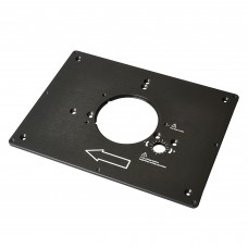 Router table insert plate alloy