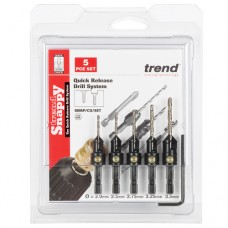 Trend Snappy 5 Piece Countersink Set