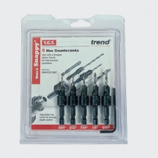 Trend Snappy 5 piece TCT Countersink Set