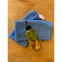 Tool care kit with Jojoba Oil and Microfiber Cloths