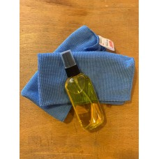 Tool care kit with Jojoba Oil and Microfiber Cloths